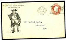 W324a 1905 CANADA *Advertising Postal Stationery* QUAKER Peterboro' Ont Cover