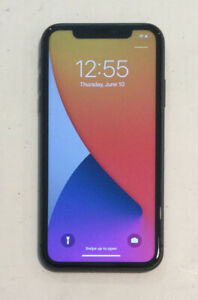 TESTED BLACK CDMA + GSM UNLOCKED APPLE iPhone 11, 128GB A2111 MWJ02LL/A J240T