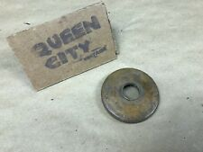 American Lubricator knurled brass cap for grease cup/oiler/motometer? 1910s 30s