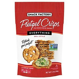 Snack Factory Pretzel Crisps, Everything