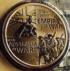 AUSTRALIAN $1 Coin & Stamp PNC 2014 Uncirculated WW1 Centenary 1914 Dollar