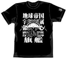 Gunbuster Erutoriumu Character COSPA Cotton T-shirt Black Size L Anime Art