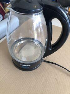 Farberware Glass 1.7 Liter Electric Kettle KE7981B Tested