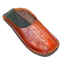 Men Mojari Pure Leather Handmade Khussa Shoes Traditional Indian Punjabi Jutti