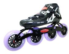 Inline Speed Skates by Trurev. 105mm or 110mm skate wheels. Size 8 or under