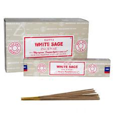 Genuine Satya White Sage Incense Sticks 15g Insence Joss Insense