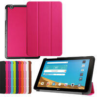 For LG G Pad 2 3 4 F2 X2 Plus 8.0 10.1 Magnetic Flip PU Leather Stand Case Cover