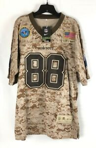 Dallas Cowboys Dez Bryant 88 Nike On Field Mens Jersey Brown Camoflauge 2XL New