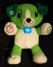 "12"" My Pal Scout Dog Plush Puppy Leap Frog Interactive Educational Toy WORKS"