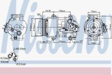 Kompressor Klimaanlage - Nissens 89089