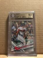 Andrew Benintendi 2017 Topps Limited Edition RC #283 BGS 9.5 Red Sox