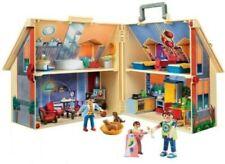 NIB PLAYMOBILTake Along Dollhouse  5167 129pc Set Ages 4+