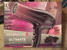 Remington 1875 Watt Full Size Hair Dryer 7X Frizz Control  Model D5950 Titanium