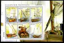 GREECE 2012 - OLD SHIPS  - MINI SHEET (6 valueS)  MNH