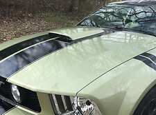 PAINTED HOOD SCOOP FOR A 2005-2009 FORD MUSTANG FACTORY STYLE