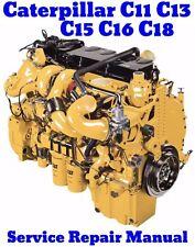 BEST Caterpillar C11 C13 C15 C16 C18 CAT ACERT Engine Service Repair Manual - CD