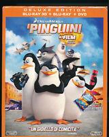 EBOND I Pinguini di Madagascar BLU-RAY 3D + BLU-RAY + DVV D552306