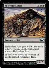 RELENTLESS RATS M10 Magic 2010 MTG Black Creature — Rat Unc
