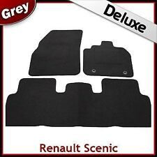 Renault Scenic 2003 2004 2005 2006...2009 Tailored LUXURY 1300g Car Mats GREY