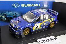 AUTOart 1:18 scale Subaru Impreza WRC 2001 Rally Portugal #5 (Richard Burns)