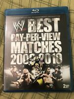 WWE THE BEST PAY PER VIEW MATCHES 2009-2010 Blu Ray Like New