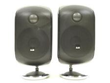 New listing B&W Bowers & Wilkins M-1 100-W 8 Compact Satellite Speaker Black M1 Lot 2x