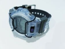 Rare Vintage G-Shock Extreme DW6900 Jelly Light Sky Blue Bumper Guard Protection