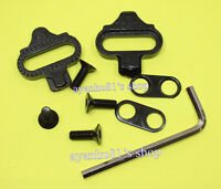 1set SPD Cleats SM-SH 51 cleats for MTB pedals without back plate plateplāt plat