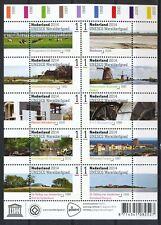 NEDERLAND 2014 - NEDERLANDS WERELD ERFGOED UNESCO - POSTFRIS VELLETJE       3209