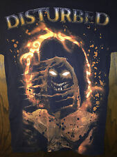 S Black Band TShirt Disturbed Logo Amazing Artwork Great Gift Must Have Item HTF