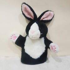New The Puppet Company Rabbit Black and White Hand Puppet