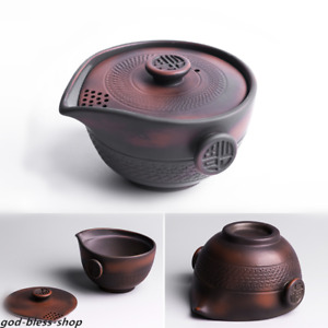 JianShui purple pottery tea pot with filter lid boutique pitcher Chinese gaiwan