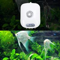 300 GallonAdjustable Silent Air Pump Large Aquarium Fish Tank 4 outlet