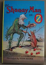 The Shaggy Man of Oz by Jack Snow - HC/DJ - V. Nice!
