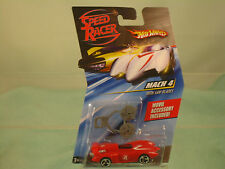 Speed Racer (Hot Wheels) Mach 4 with saw blades Movie Accessory included! 1:64