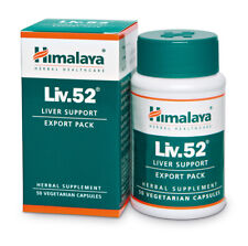 Himalaya Liv.52 Liver Support 50 capsules EXPORT PACK SHIPPING FROM USA