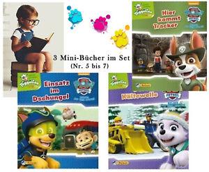 PAW PATROL 3 Minibücher,Nr. 5-7,Minibuch,Nelson minis,Kinder-Buch, Bilderbuch