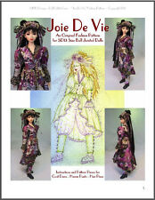 """Joie De Vie"" 24"" (60 cm) BJD Ball Jointed Doll Fashion Clothing Pattern"