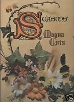 MAGNA CARTA  -  SEASONS    DS 50091  LP  1970 USA