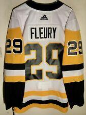 adidas Authentic Adizero NHL Jersey Pittsburgh Penguins Fleury White sz 50