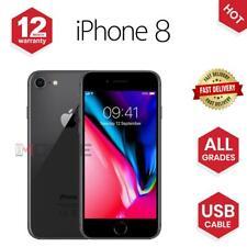 Apple iPhone 8 - 64GB/256GB - Gold/Grey/ Silver - UNLOCKED - Various Grades