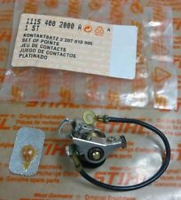 Stihl Genuine New 1115 400 2000 Chainsaw Points Set for FS20, 045 OEM (B5)