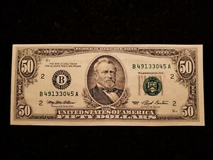 1993 $50 FRN FEDERAL RESERVE NOTE - (B) NEW YORK LOT#CA125
