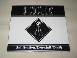 Revenge - Infiltration.Downfall.Death CD teitanblood marduk katharsis blasphemy
