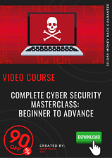 Complete Cyber Security Masterclass: Beginner to Advance video training tutorial