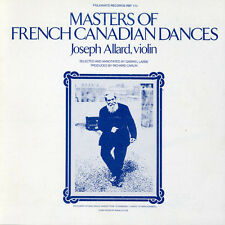 Joseph Allard - Masters of French Canadian Dances [New CD]