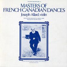 Joseph Allard - Masters of French Canadian Dances [New CD]
