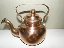 Small Antique Copper Kettle Water Boiler.
