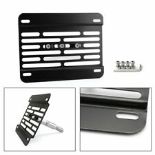 Universal Car Tow Hook License Plate Relocate Mounting Bracket Holder For Ford^