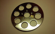 PULLEY COVER FOR HARLEY-DAVIDSON,CHROME,8HOLE